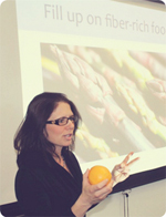 Rima Kleiner translate nutrition science workshop presentations