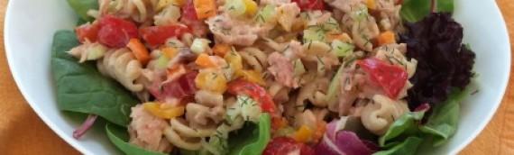 Confetti Pasta & Tuna Salad