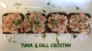 Tuna & Dill Crostini_final