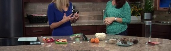 "Holiday snack attack solutions + WFMY ""Good Morning"" Show"
