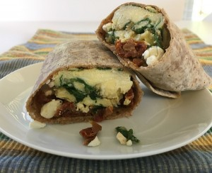 spinach-feta-sundried-tomato-egg-wrap